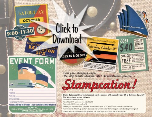 Sign up for Stamp Camp – Time is running out!