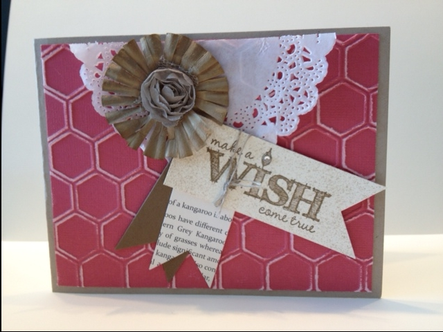 Make a Wish! with Stampin' Up!