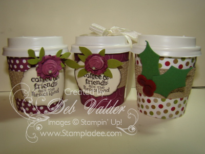 Perfect Blend Mini Coffee Cups With Deb Valder Deb