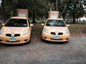 Dunkin Donuts Breast Cancer walk