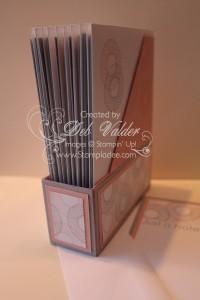 Magazine Holder Note Card Spiral Spins Stampin Up 4
