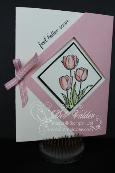 Diamond Gate Fold Card With Deb Valder Deb Valder Fun
