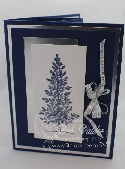 Pop Up Christmas Tree Silver