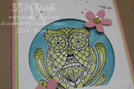 Bloom Box May Color World Owl Dragon Fly Adult Coloring Book My Fun Stampers Journey Deb Valder Richard Garay 8