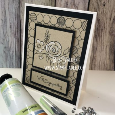 Painting with Stamps Fun Stampers Journey and Deb Valder