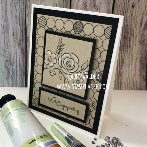 Painting with Stamps and Fun Stampers Journey Mixed Media