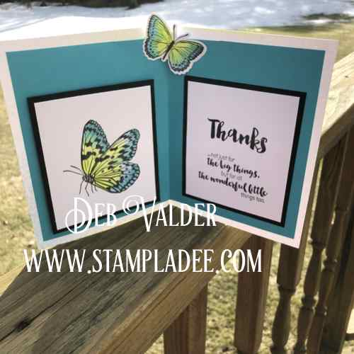 Fun Stampers Journey Pop Up Butterfly