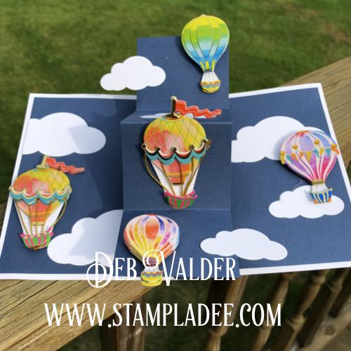 Twist and Pop Card with Blue Skies Bundle