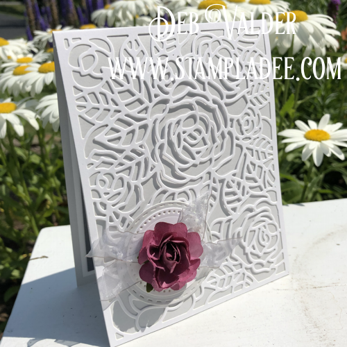 Rose Garden Frame Die from FSJ