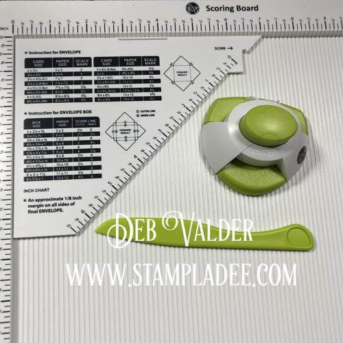 Scoring Board with Corner Rounder/Notcher