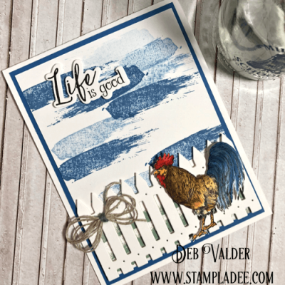 Fun Stampers Journey Humble & Kind Rooster
