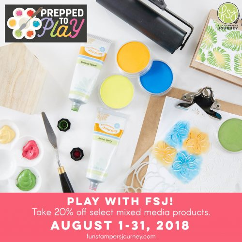 Prepped to Play with Fun Stampers Journey