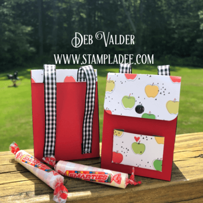 Back to School Backpack Fun Stampers Journey and Deb Valder