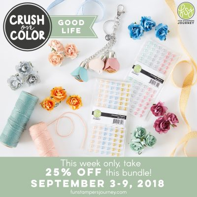 Week 1 Color Crush Fun Stampers Journey and Deb Valder