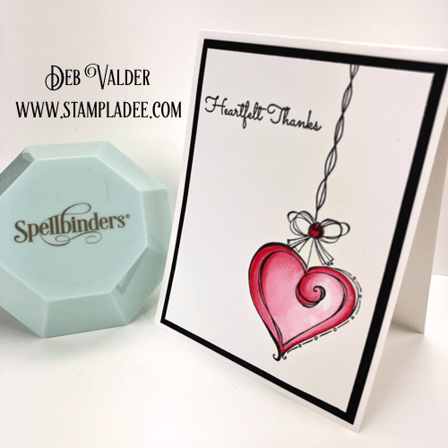 Dangling Ornaments from Spellbinders