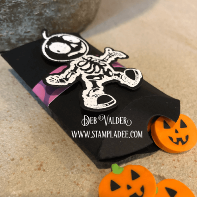 Halloween Treat Pillow Die with Deb Valder