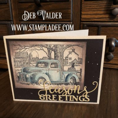 A Very Vintage Christmas Truck with Deb Valder