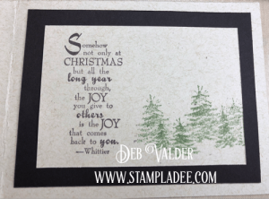 Vintage Christmas Truck with Deb Valder