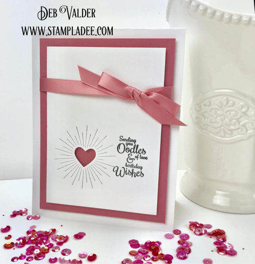 Shining Heart from Simon Says with Deb Valder