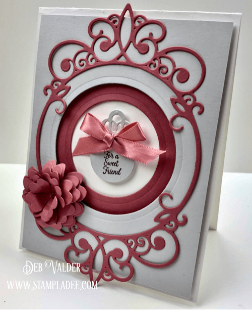 Victorian Tunnel Card with Deb Valder