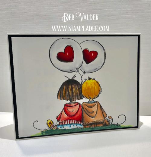 Little Valentine Sweeties with Deb Valder