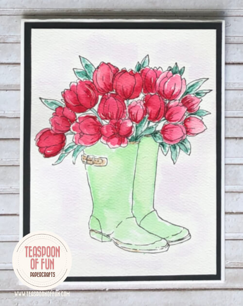 Blooming Boots from Teaspoon of Fun