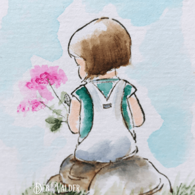 How to Watercolor your Thank You's with Deb Valder