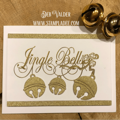 Jingle Bells Christmas Card with Deb Valder