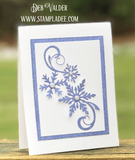 Snowflake Cluster in our line of Holiday Cards