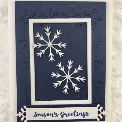 Snowflake Frames with Deb Valder
