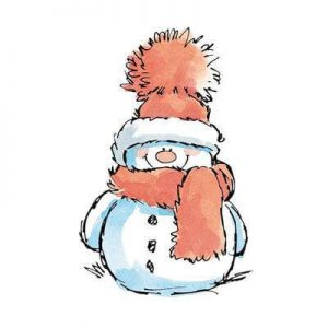 Snowman is a frosty friend that will keep us warm on our calendar.