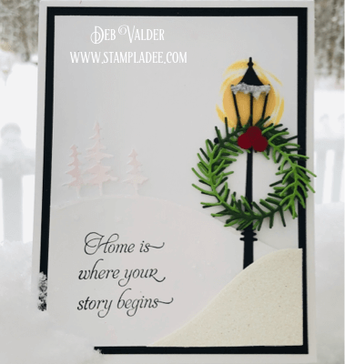 Holiday Series Elegant Snowfall Scenery with Deb Valder