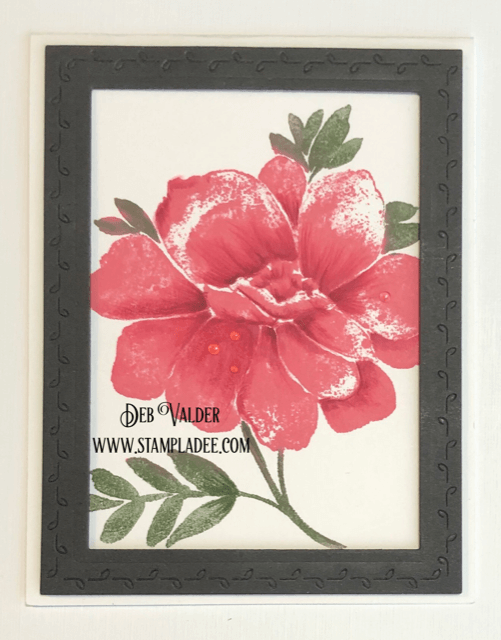 Penny Black flower stamp called Dreams of Love in our Freshly Picked Market.