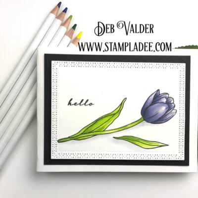 Watercolor Spring Tulips with Deb Valder