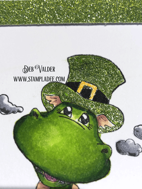 Bart the Dragon on Saint Patrick's Day
