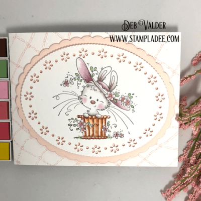 Whimsical Bunny Card with Deb Valder