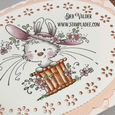 Whimsical Bunny Card with Deb Valder
