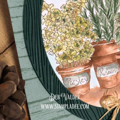 Watercoloring an Herb Garden with Deb Valder