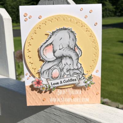 Mama Elephant Love and Cuddles with Deb Valder