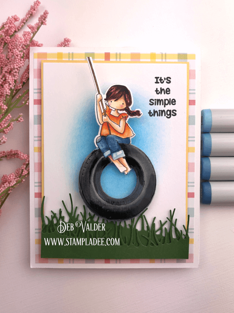 It's the simple things in life like a little girl on a tire swing.