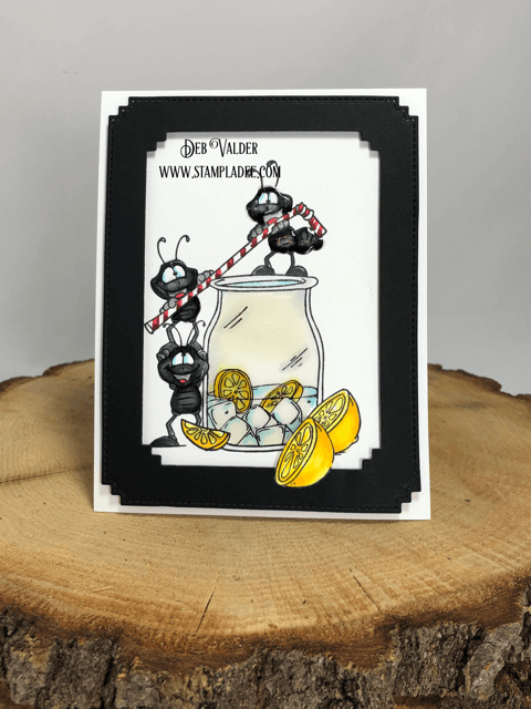 Are you getting antsy and need some lemonade?