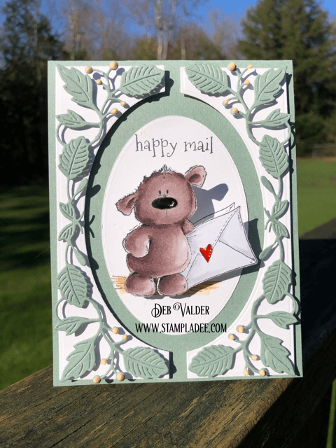 Please Deliver Happy Mail from Harry the Stuffie.