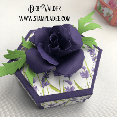 Create a Super Simple Hexagon Treat Box with Deb Valder