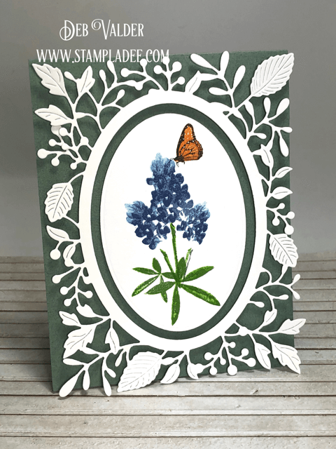 Blue Bonnet multi-level stamp can be found in our Teaspoon of Fun Shoppe.