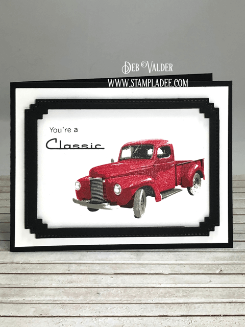 Classic Old Truck. All product can be found in our Teaspoon of Fun Shoppe.