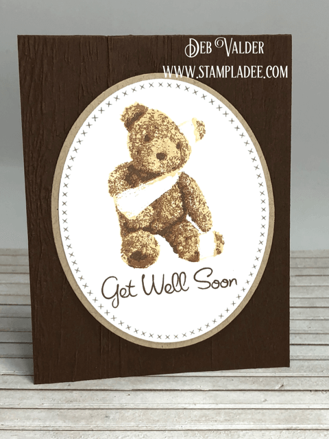 Get Well Teddy is part of our Multi-level collection and can be found in our Teaspoon of Fun Shoppe
