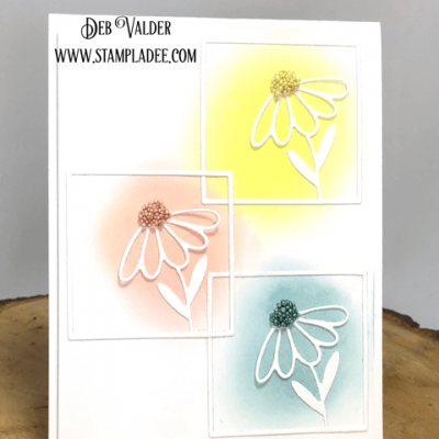 Floral Squares Mini Series #1 with Deb Valder