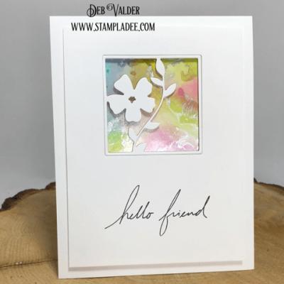 Floral Squares Mini Series #2 with Deb Valder