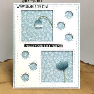 Floral Squares Mini Series #3 with Deb Valder
