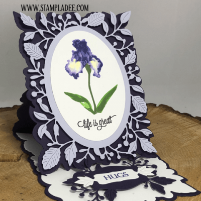 The Iris Meets Our NEW Pop Up Easel Die with Deb Valder